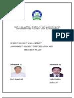 Project Management Identification) Dt.18.04.12