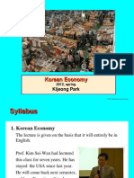 Korean Economy 1(Introduction)_2012