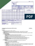 CPR CODE Flow Sheet