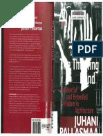 The Thinking Hand- Juhani Pallasmaa