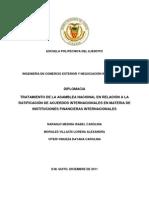 Ensayo Banco Del Sur y Tratado Constitutivo Del Sistema Unitario de Sucre