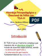 Abordaje Psicopedagógico y Emocional de Niños con TDA-H