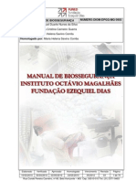 Manual de biossegurança instituto octávio magalhães FUNED