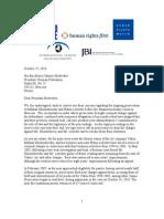 US Rights Groups Letter_on_Khodorkovsky