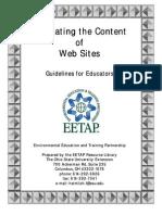 Eval Websites