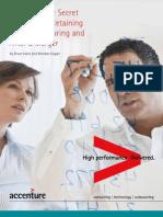 Accenture Analytics the Secret Weapon