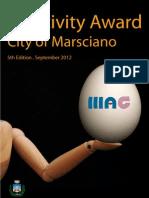 Creativity Award City of Marsciano 2012