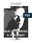 H. P. Lovecraft -Bajo Las Piramides