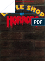 Conductor's Score - Little Shop of Horrors