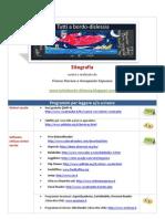 Sitografia Dislessia e DSA Storace Capuano Tuttiabordo-Dislessia