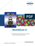 MultiMode 8 Atomic Force Microscope With ScanAsyst HR Brochure