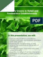 Cut Leafy Greens - Tart - 4-16-08