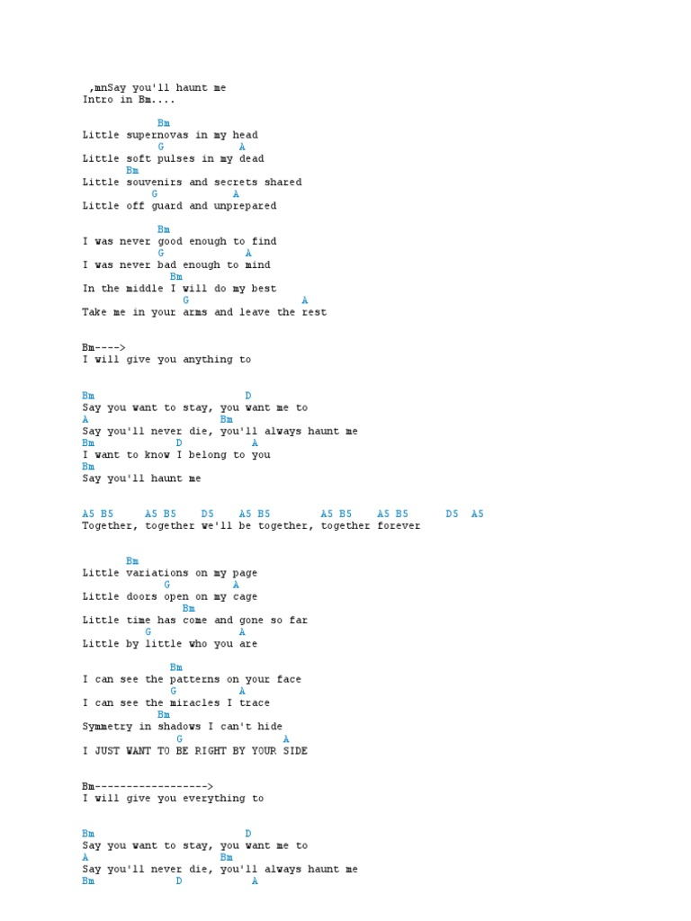 Some Chords Song Structure Music Theory