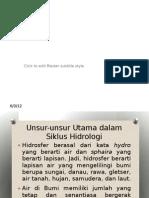 Geografi Hidrosfer Dan Dampaknya