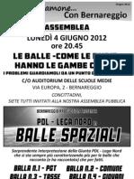 Parliamone Con Bernareggio Giugno 2012