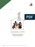 Sustainability of CMCs [Gumucio]