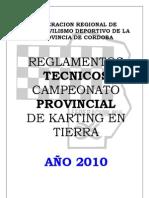 to Tecnico 2010 Karting Provincial Cordobes