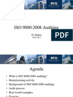 ISO 9000-2008 Auditing