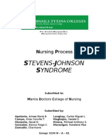 Steven Johnsons Syndrome