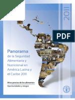 Panorama de La Seguridad Aliment Aria y Nutricional en America Latina y El Caribe