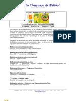 Proceso de Acreditaciones - Clasificatorias Brasil 2014