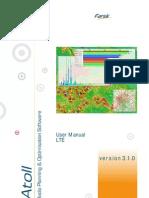Atoll 3.1.0 User Manual LTE