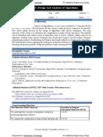DAA Course File