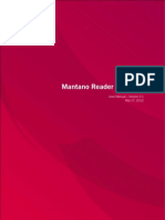 Mantano Reader Android User Manual A5