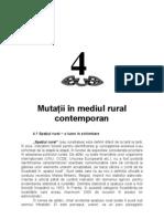 evolutia satului romanesc