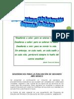 pautas de evaluación y herramientas lenguaje 2°