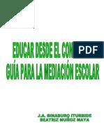 Binarburo Iturbide Y Muñoz Maya - Educar Desde El Conflicto - Estrategias Para Trabajar La Mediacion