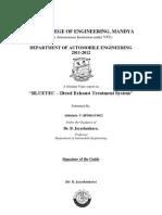 BLUETEC-Diesel Emission Control System