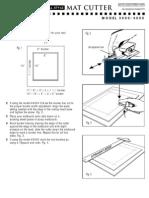 3000-4000 mat cutter
