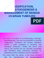 Benign ovarian tumours