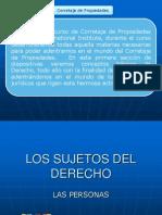 01-Los Sujetos Del Derecho Personas