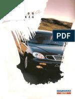 Daewoo Leganza Katalog