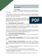 Direito administrativo - aula Estrutura da Administração Pública