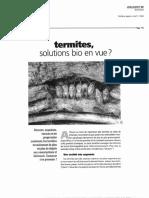 Termites, Solutions Bio en Vue