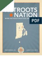 Netroots Nation 2012 Program