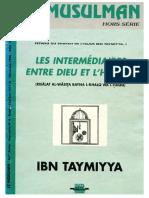 """Ibn Taymiyya, """"Les intermédiaires entre Dieu et l'homme"""""""