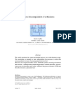 Process Decomposition of Business Paper