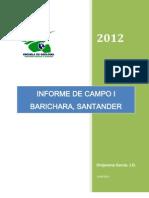 Informe Campo i Barichara