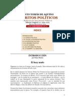Escritos Politicos - Sto Tomas de Aquino