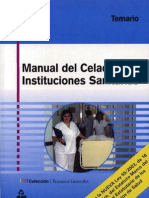Manual Del Celador de Instituciones San It Arias
