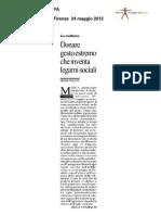 La Repubblica Ed Firenze 24-05-2012