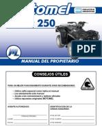 Motomel Quest 2009 - Owner Manual