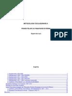 AP-Metodologia de Elaborare a Proiectelor Cu Finantare Externa