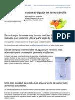 Comidaparabajarpesorapido.com-Recomendaciones Para Adelgazar en Forma Sencilla