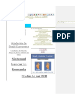 Sistemul Bancar in Romania