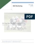 Pop Warner Marketing Plan